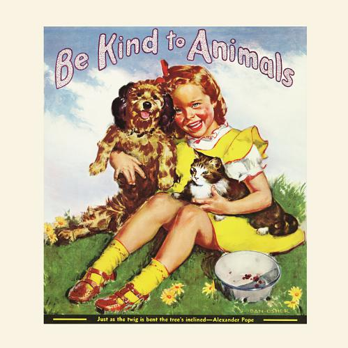 Celebrate Be Kind to Animals Week May 4-10, the country's oldest commemorative week created by American Humane Association in 1915! (PRNewsFoto/American Humane Association )