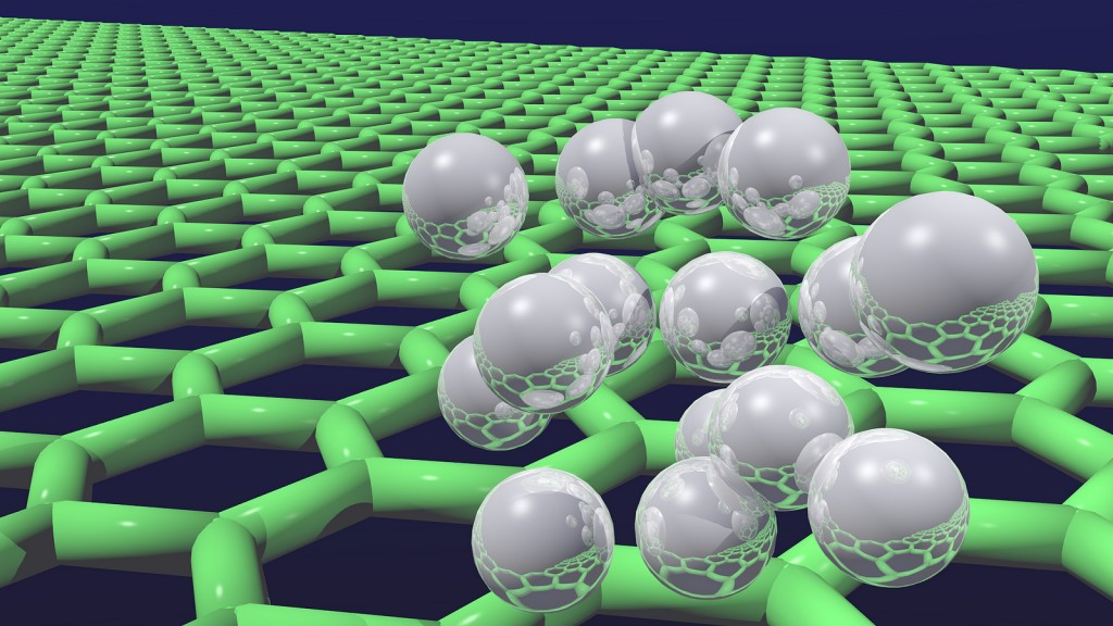 Quantum Hydrogen on Graphene (image by UCL Mathematical and Physical Sciences/Flickr)
