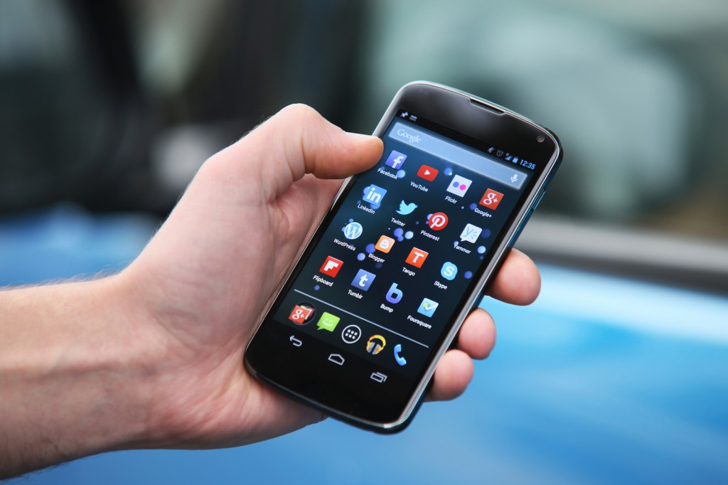 """""""Applications, which are built to carry out only one function such as delivering text messages or news articles, are more promising in the mobile market.""""  said, Facebook CEO. (image: Highways Agency/flickr)"""