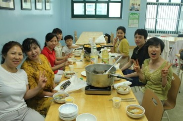 Korean Food Business Start-up Courses for Migrant Workers