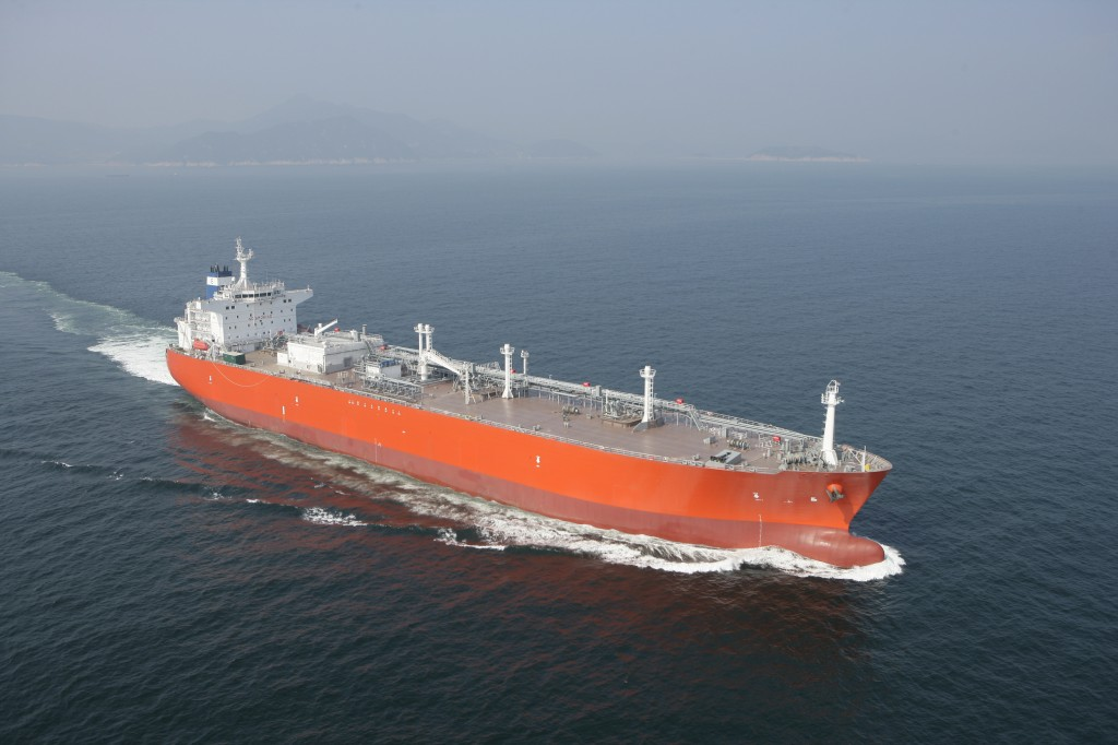 The vessels will be 226 meters long, 36.6 meters wide, and able to load liquefied petroleum gas (LPG) up to 84,000 cubic meters. (image: DSME)