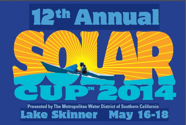Beginning May 16, teams from high schools are participating through the weekend in the 12th annual Solar Cup at Metropolitan's Lake Skinner. (image credit: Metropolitan Water District of Southern California)