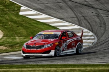 Kia Racing Looks to Repeat Podium Performance in Motor City