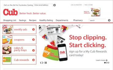 Food Industry Looks to Power of Mobile Coupon: Cub® Foods to Offer Digital Couponing Program