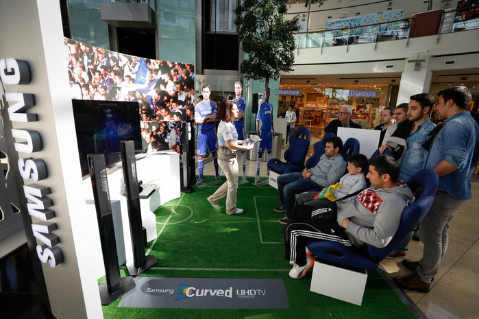 Curved UHD Stadium Zone (image: Samsung Electronics)