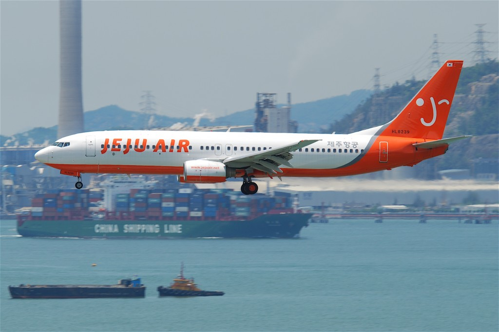Jeju Air Co is, South Korea's largest budget carrier (image: Wikimedia Commons)