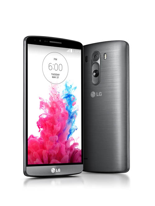 LG Electronics introduced to the world its eagerly anticipated G3 smartphone, the successor to the company's well-received LG G2. (image credit: LG Electronics)