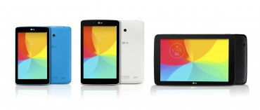 LG Expands Tablet Options with New G Pad Series Models