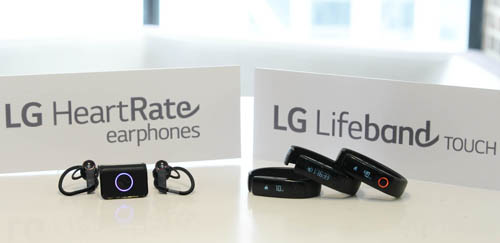 LG Enters Fitness Wearable Market with Lifebrand Touch and Heart Rate Earphones