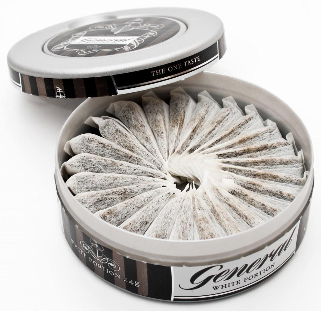 The sale of snus is illegal in Turkmenistan and the European Union but, due to special exemptions, it is still manufactured and consumed primarily in Sweden, Norway and Denmark (loose only). (image: Wikipedia)