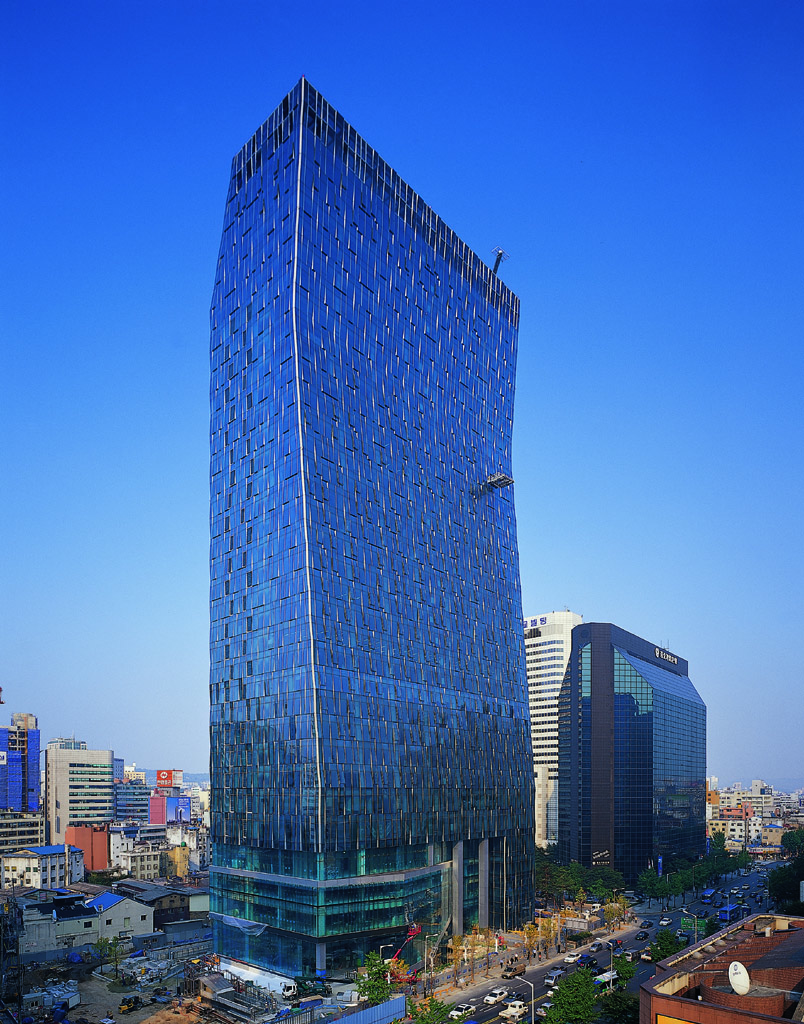 SK T Tower, SK Telecom's Headquarters in Seoul (image: SKT)