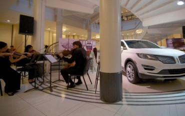 Lincoln MKC Small Premium Utility Engages Sense of Sound With Chicago Symphony