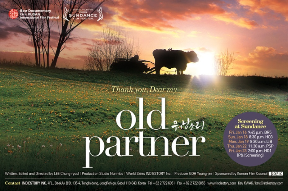 "Depicting a 40-year relationship between a cow and an old farmer in his 80s, the movie ""Old Partner"" evoked a strong reaction from the viewers. (image: Old Partner)"