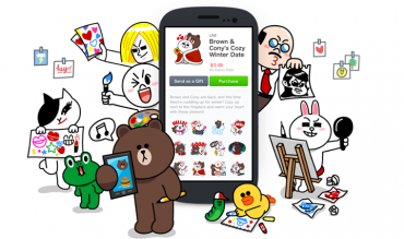 "Line's User Created Stickers Sell like ""Hot Cakes"""