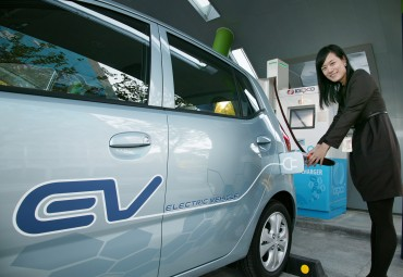 KEPCO Heralds EV Era by Introducing EVs for Business