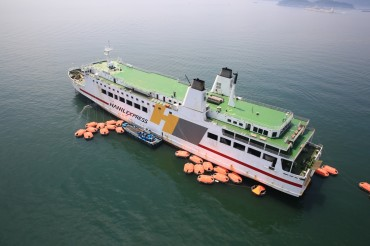 Hanil Express Conducts Strengthened Safety Check on Its Ferry Boat