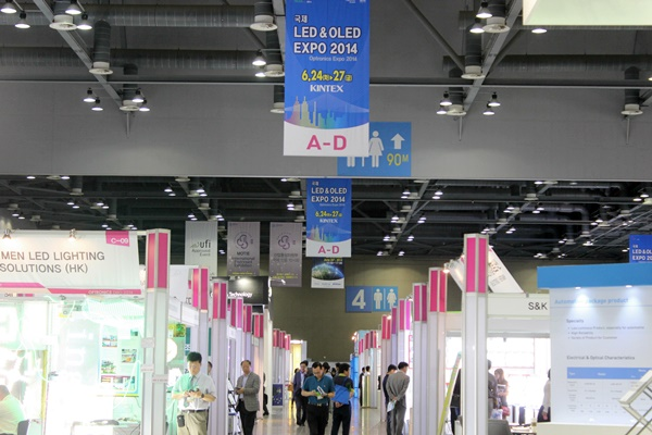 Korea's Largest LED Show! 'International LED & OLED EXPO 2014′ Has Kicked Off
