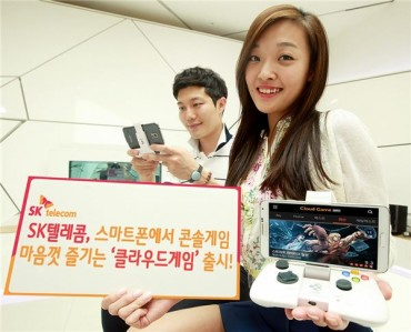 "SK Telecom Unveils ""Cloud Game"" Service for Smartphone Users"