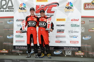 Kia Racing Scores Double Victory at Road America to Retake Pirelli World Challenge Driver and Manufacturer Points Leads at Midseason