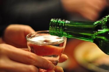 Korea's Per-person Alcohol Consumption 9.16 Liters