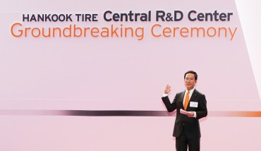 "Interview: ""We Will Raise Our Brand Value through Tech Development""…Hankook Tire"