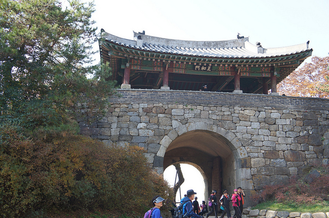 The World Heritage Committee decided to give the World Heritage status to the South Korean mountain fortress, Namhansanseong. (image: DreamAnvil/flickr)