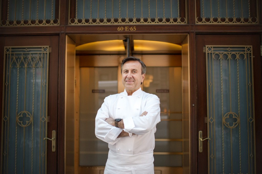 Renowned chef Daniel Boulud is joining Samsung Club des Chefs, an industry-first culinary initiative launched in 2013 that brings together celebrated chefs from around the world to collaborate with Samsung on the development of next-generation new product innovations. (Photo: Business Wire)