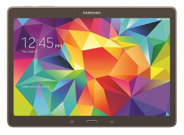 Galaxy Tab S Available for Pre-Order Starting Tomorrow in the U.S. Market