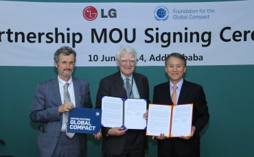 LG Strengthens Commitment to UNGC to Address Global Development Challenges