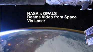 "NASA Beams ""Hello, World!"" Video from Space via Laser"