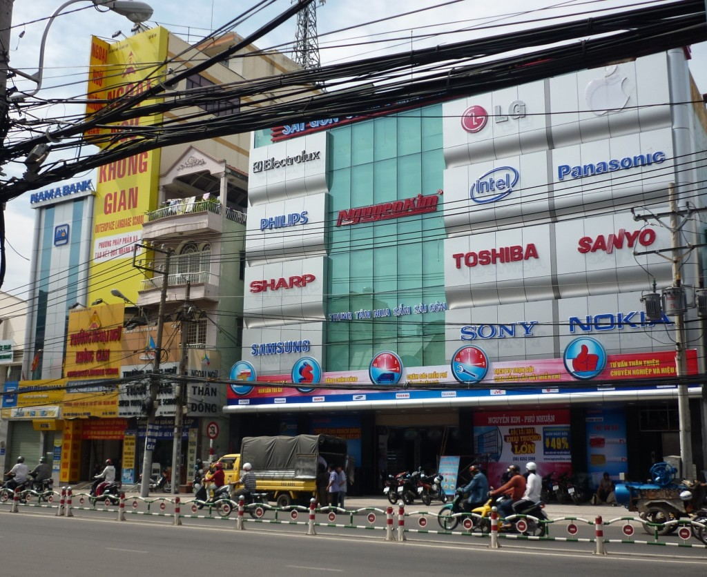 NguyenKim shopping center in Phu Nhuan, Ho Chi Minh City (Wikipedia)