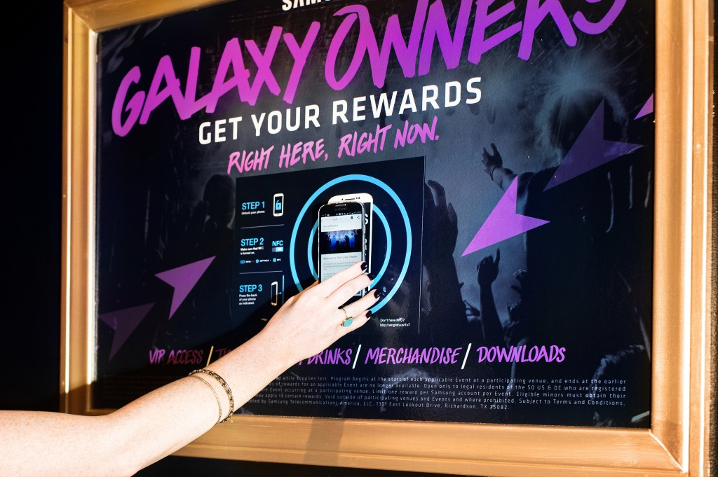 Samsung Galaxy Device Owners Visiting Participating U.S. AEG-Affiliated Venues to Receive Instant Rewards Including VIP Luxury Suite and Club Access, Seat Upgrades and More (image: BusinessWire)