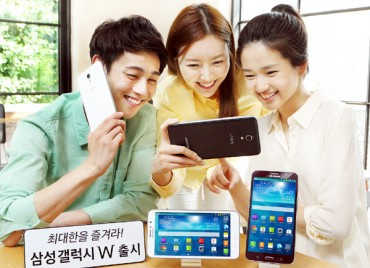 Samsung to Tap a Niche Market Launching Largest-ever Phone Galaxy W