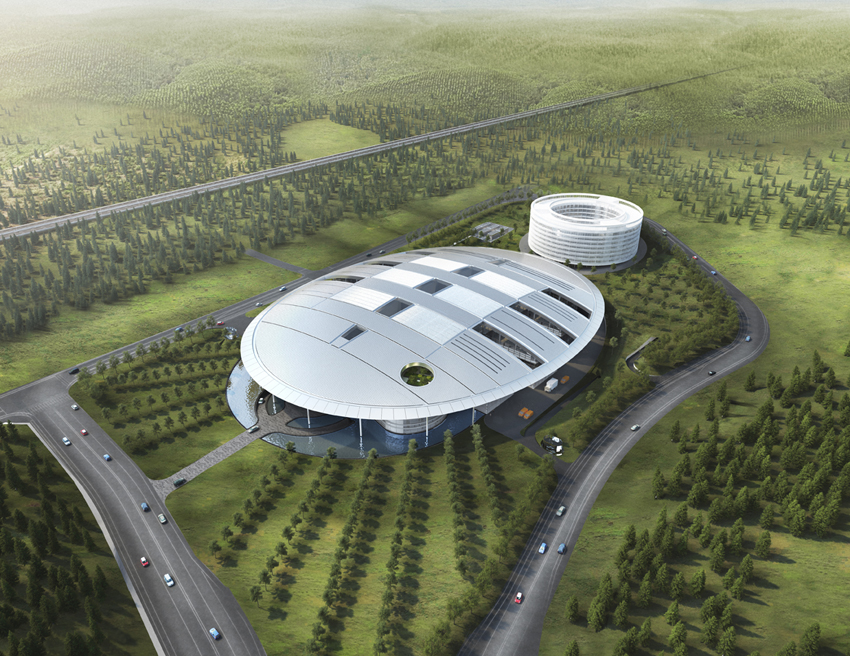 The R&D center will hire a total of 1,000 research staff at the center and strengthen its capabilities in basic technology.(image:Hankook Tire)