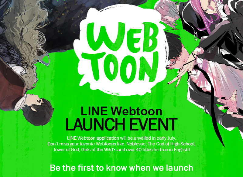 Popular Mobile Webcomic Service, LINE Webtoon, Debuts in the United