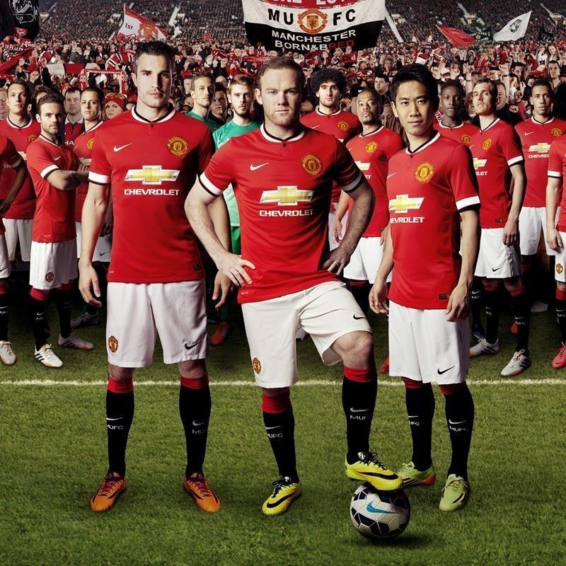 Chevrolet Celebrates Debut on New Manchester United Shirt