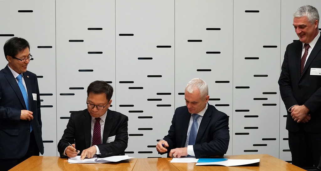 SK Telecom announced that it signed a MOU with Telecom New Zealand for cooperation in business and technology with regard to Internet of Things. (image credit: SK Telecom)