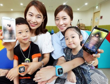 "SK Telecom Introduces Wearable ""T Kids Phone JooN"" with Lots of Safety Features"