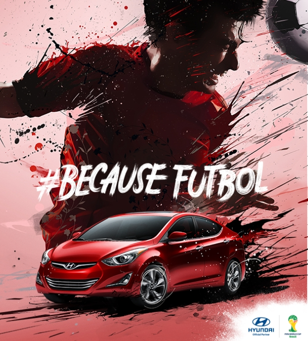 Hyundai's #BecauseFutbol Tops Social Charts During 2014 FIFA World Cup