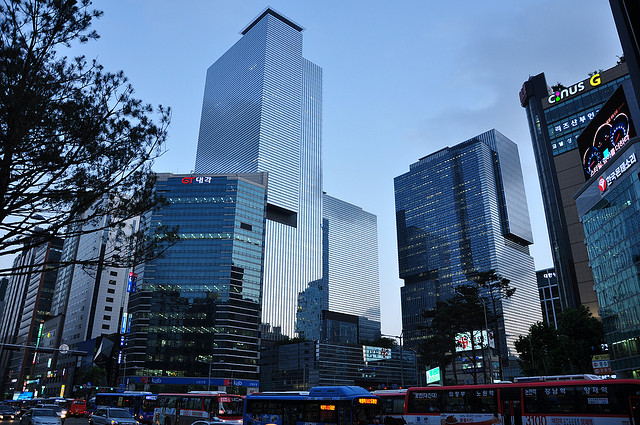 Samsung's Seocho Town building was imposed 1.7 billion of property tax, the largest amount by buildings. (image: Oskar Alexanderson/flickr)