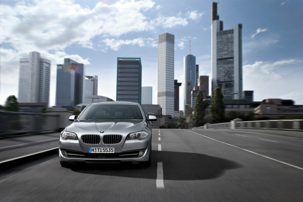 Of the total 8,772 imported rental cars registered as of the end of last year, as many as 13.9 percent (1,218 units) were BMW 5 Series cars.(image: BMW Korea)