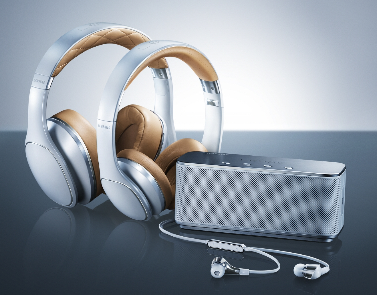 Samsung Telecommunications America nnounced the U.S. availability of the Samsung Level portfolio of premium mobile audio products. (image credit: Samsung Electronics)