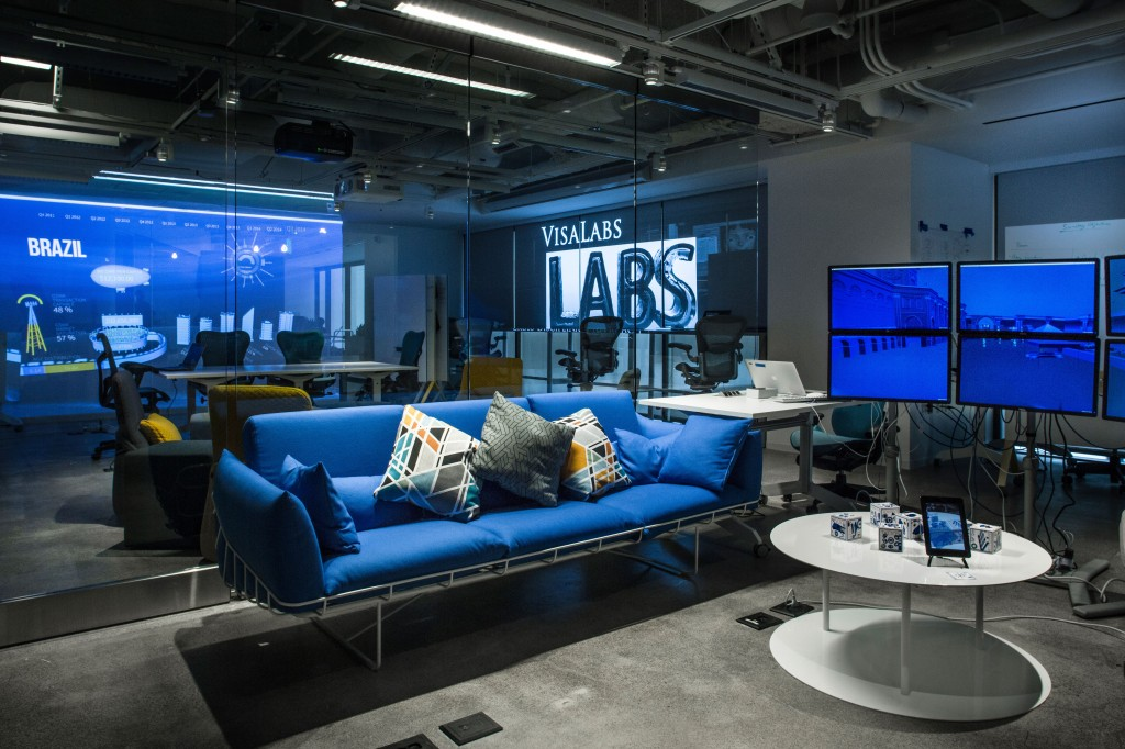 "New ""One Market"" location designed to foster collaboration among Visa technologists, clients and a growing global marketplace of payment innovators and developers. (image: Visa Inc/ Business Wire)"
