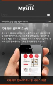 MySITE's newly launched app hosting solution (image: Korea Infosys)