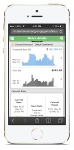 Energy Engage Mobile allows consumers to take control of their electricity, water, and gas consumption on-the-go (image: BusinessWire)