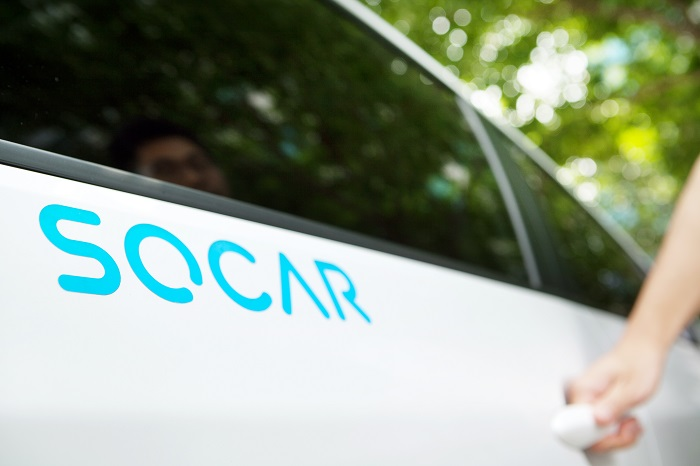 The rate at which SoCar has grown is much faster than that of not only other domestic car sharing operators but also that of the world's major ones including America's Zipcar and Japan's Orix Auto. (image: SoCar)