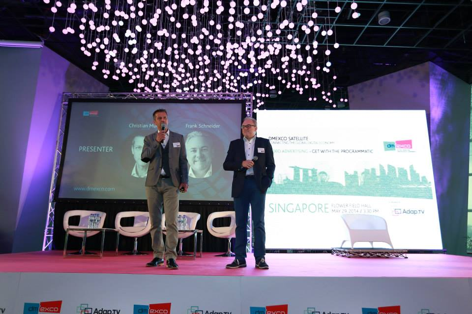 A special highlight of this year's conference program involves the use of many new innovative conference formats that were especially developed for dmexco. (image: dmexco 2014)