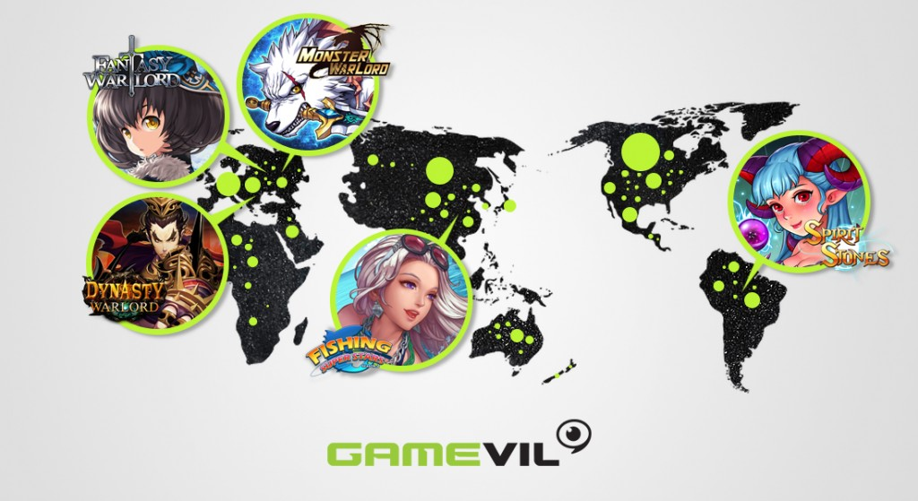 Observing that there is a mobile game that brings particular attention in one country or another, Gamevil sees the long-running games for more than two years benefit from its localization policy and stable server performances. (image: Gamevil)