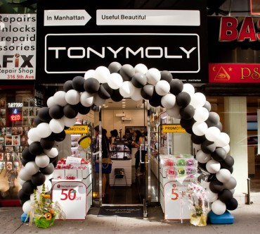 Tonymoly Opens Store in Manhattan in Effort to Move into U.S. Market
