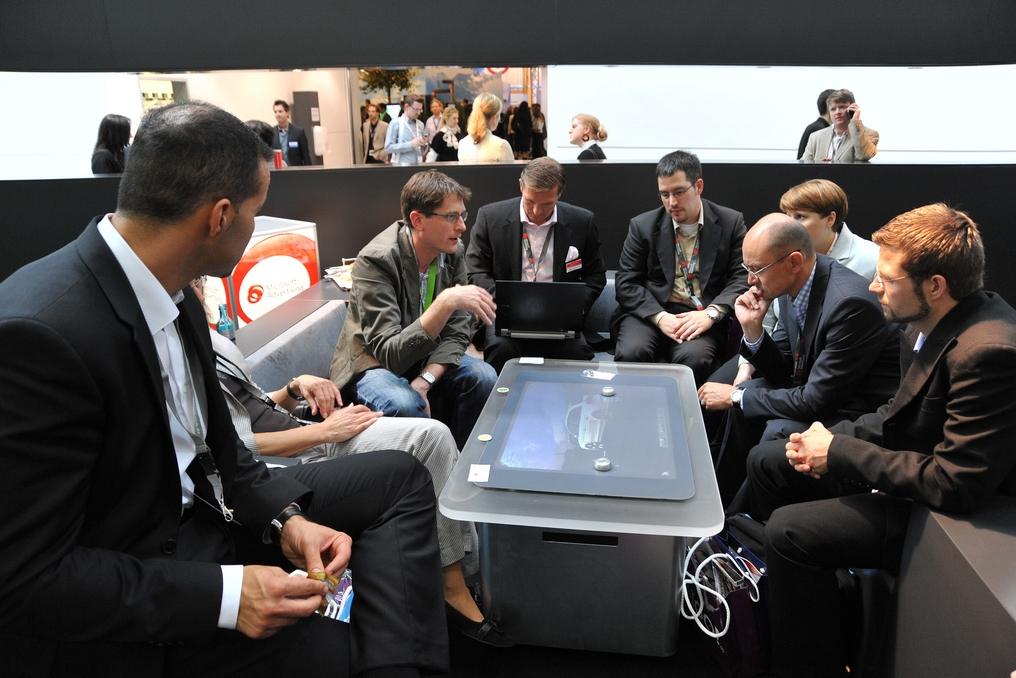 The dmexco agency lounge will once again be the central client host of all the important agency networks; all of the relevant RECMA agencies are represented at dmexco 2014. (image: dmexco 2014 Organizing Committee)